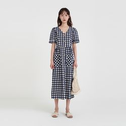 alps check one-piece (3colors)