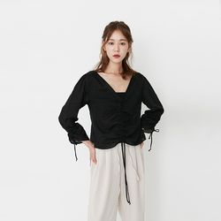 natural rope blouse (2colors)