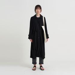 basic single linen coat (3colors)