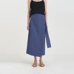bonny linen lap skirt (2colors)