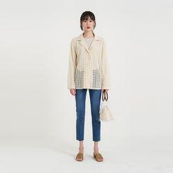 lace bla jacket (2colors)