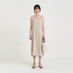 minimal linen one-piece