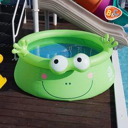 귀여운 개구리 대형 풀장 우리아이 미니 수영장
