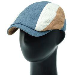 [더그레이]NMH32. 3 칼라 절개 남성 헌팅캡 골프 모자