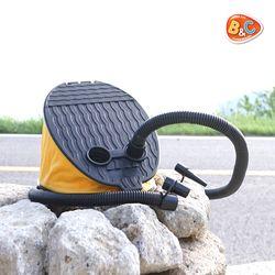 풋 펌프 공기주입 흡입 겸용 여름 튜브 필수품