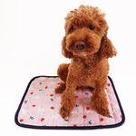 강아지쿨매트 인견매트(소) - 핑크토끼