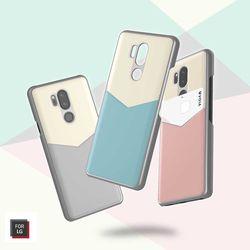 보이아 정품 LG G7 바타입 카드 포켓 케이스 G710
