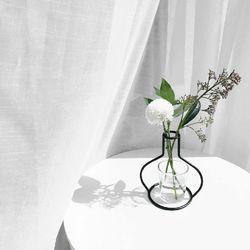 해외 Nude Vase (H135) + Glass Vase