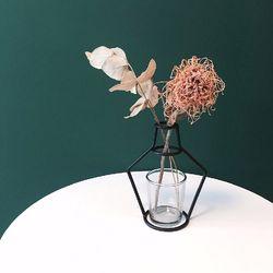 해외 Nude Vase (H145) + Glass Vase
