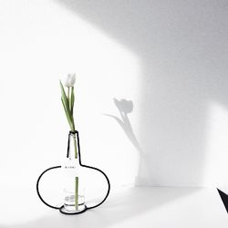 해외 Nude Vase (H250) + Glass Vase
