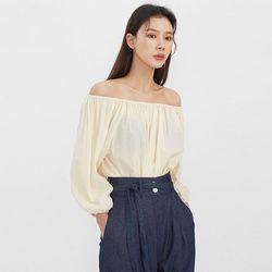 pure off shoulder blouse