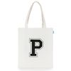 [핍스] PEEPS big logo eco bag(ivory)