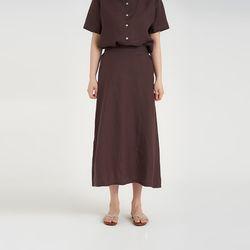 summer linen long skirt (3colors)