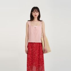 lace square sleeveless (3colors)