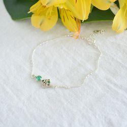 [925실버] forest silver bracelet