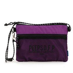 [핍스] PEEPS bright sacoche bag(violet)