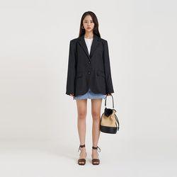 delia linen jacket (3colors)