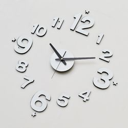 고급모던디자인 인테리어 DIY무소음벽시계 모던진주펄