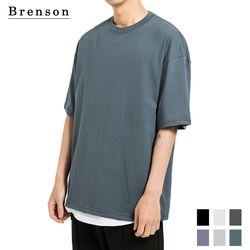프리미엄코튼 오버핏 반팔 티셔츠