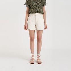 cotton cut short pants (2colors)