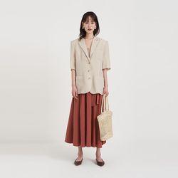 hind half linen jacket (4colors)