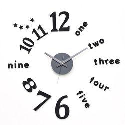 무소음벽시계  DIY 인테리어벽시계 클래식블랙