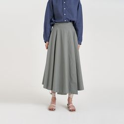 lap flare skirt (3colors)