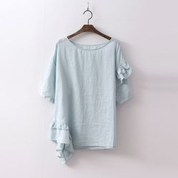 Point Frill Blouse