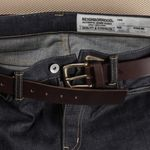 No.1 Brass Belt - Brown