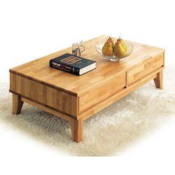 캘리 원목 1150 서랍형 거실 소파 테이블