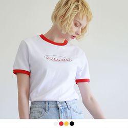 [반팔추가증정] 노 서브젝트 링거 티셔츠 (4color)