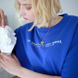 [반팔추가증정] 너의 인생 반팔 티셔츠 (4color)