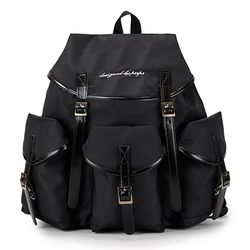 [핍스] PEEPS glam backpack(black)