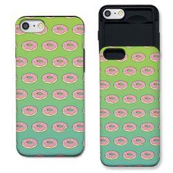 [G6] 도넛 패턴 민트라임 S3109D 슬라이더