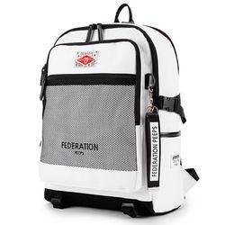 PEEPS federation backpack(white)