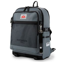 PEEPS federation backpack(charcoal)