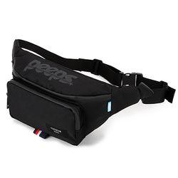 [핍스] PEEPS run and gun waist bag(black)