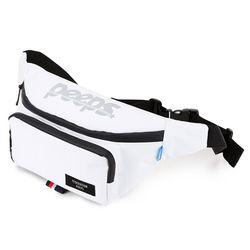 [핍스] PEEPS run and gun waist bag(white)