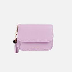 Dijon N301R Round Card Wallet lilac blossom