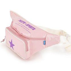 [핍스] PEEPS pop pop waist bag(pink)