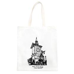 서울의골목길 [에코백 시계탑]