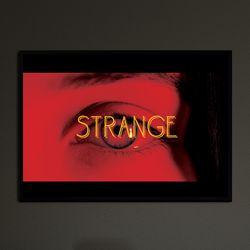 strange - A4 인테리어 메탈액자