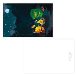 [금액대별 사은품] 젤리크루 아거와유정란 엽서