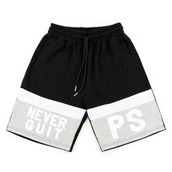 [핍스] PEEPS 2 never quit half pants(gray)