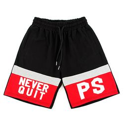 [핍스] PEEPS 2 never quit half pants(red)