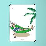 유니크 인테리어 디자인 포스터 M 쉼 A1(특대형)