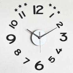 예쁜 인테리어 무소음벽시계 DIY시계 시크 진주펄BL
