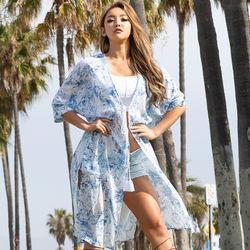 [오를로] ORWJ108 여자 여름 로브 패션 코디 옷