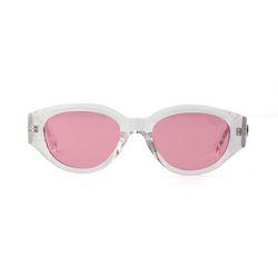 D.fox Original Glossy Clear Pink Tint Lens