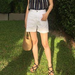 SHALOM cotton half pants (s m l)